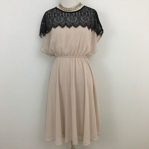 🆕 ASOS Maternity | Black Lace & Cream Dress